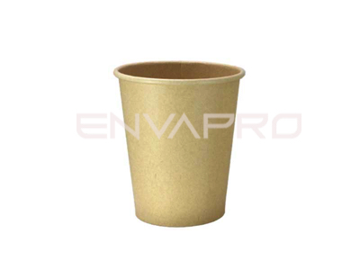 VASO CARTÓN KRAFT/KRAFT  INTERIOR PLA-BIO 12oz 360ml