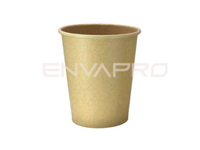 VASO CARTÓN KRAFT/KRAFT  INTERIOR PLA-BIO 16oz 473ml