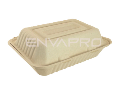 TUPPER PORTAMENU 1 COMP. 1200 ML 50 UD CREMA 220*165*80 MM GREENPACK