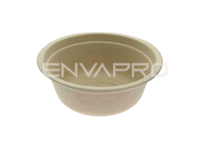 BOWL CAÑA DE AZUCAR COLOR KRAFT 950 ml