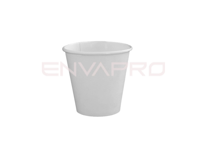 VASO CARTÓN PARED GRUESA BLANCO SOLOCUP 6oz 177ml BOCA 80mmØ