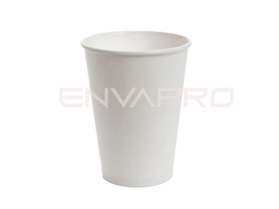 VASO CARTÓN PARED GRUESA BLANCO SOLOCUP 10oz 290ml