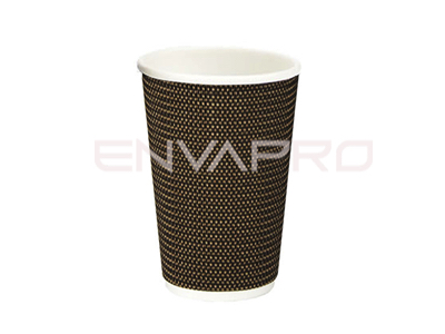 VASO CARTÓN PARED TRENZADA 16oz 480ml VIPCUP