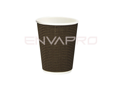 VASO CARTÓN PARED TRENZADA 08oz 237ml VIPCUP