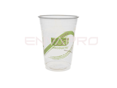 VASO GREENSTREEP PLA BIODEGRADABLE 16 oz 470 ml