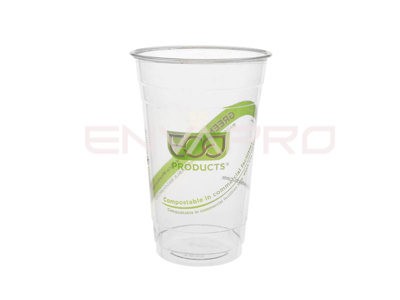 VASO GREENSTREEP PLA BIODEGRADABLE 20 oz 590 ml