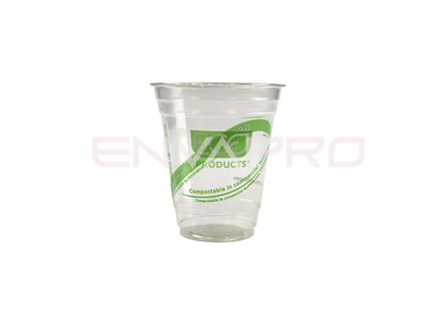 VASO GREENSTREEP PLA BIODEGRADABLE 7 oz 205 ml