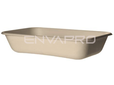 ENVASE RECTANGULAR BAGAZO ECOPRODUCT 940 ML