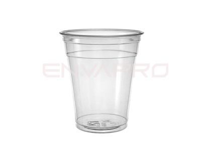 VASO PLASTICO RPET 12/14 OZ. 355 ML