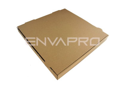 CAJA PIZZA KRAFT INTERIOR KRAFT 350x350x40 MM