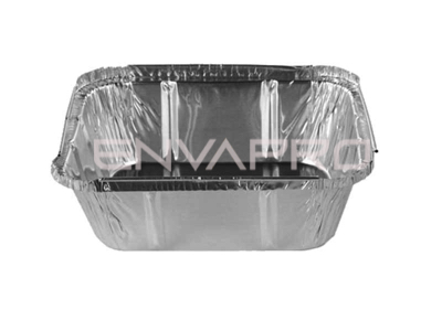 ENVASE ALUMINIO RECTANGULAR 16oz 440ml 14.5/12 x 17.2/8.2 x 4cm