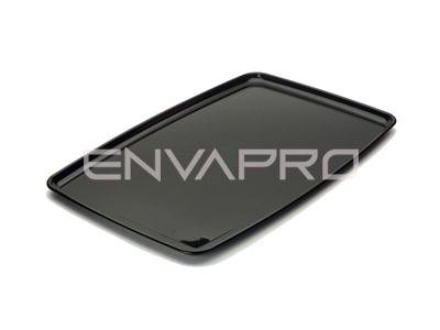 PLATO PS RECTANGULAR NEGRO 200 x 280mm