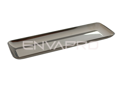 MINI PLATO PS RECTANGULAR PLATA 190 x 65mm