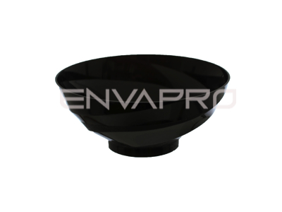 BOWL VOILA PS NEGRO 150ml 95mmØ