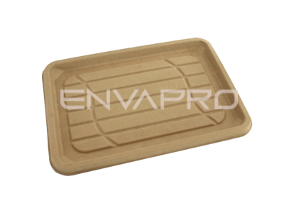 PUL00314 BANDEJA RECTANGULAR BEPULP 350 x 240 mm