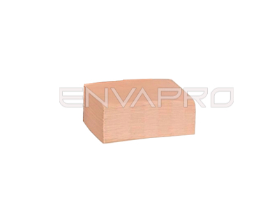 SERVILLETA DISPENSER NATURAL 2 CAPAS 20*16,5 CM INTERFOLD