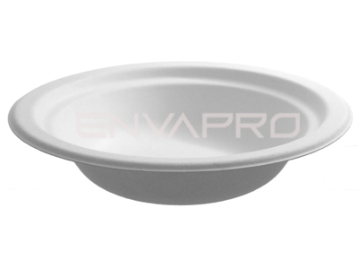 BOWL CHINET FIBRA DE CARTÓN BLANCO 16oz 450ml