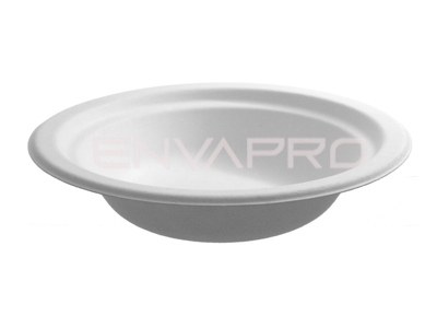 BOWL CHINET FIBRA DE CARTÓN BLANCO 10 oz 300ml