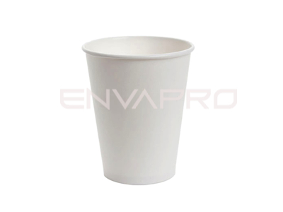 VASO CARTÓN PARED GRUESA BLANCO 8oz 237ml