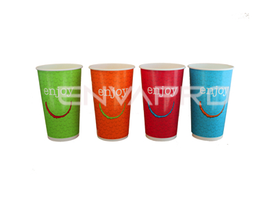 VASO CARTÓN BEBIDA FRÍA ENJOY 12oz 360ml