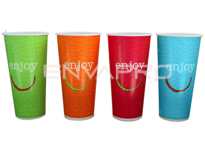 VASO CARTÓN BEBIDA FRÍA ENJOY 32oz 1025ml