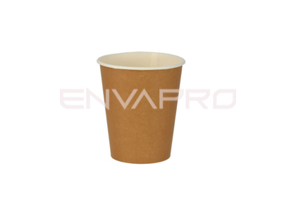 VASO CARTÓN PARED GRUESA EFECTO KRAFT 6oz 177ml