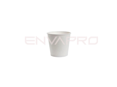 VASO CARTÓN PARED GRUESA BLANCO 4oz 126ml