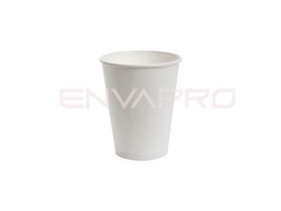 VASO CARTÓN PARED GRUESA BLANCO 6oz 177ml