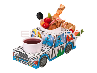 CAJA PORTAMENU INFANTIL JUNGLE LION JEEP
