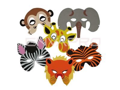 MASCARAS JUNGLE WILDLIFE MASKS