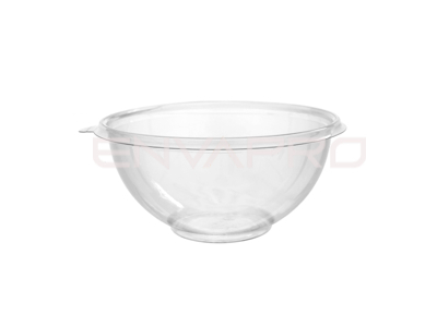 BOWL ENSALADERA PET TRANSPARENTE 16oz 500ml