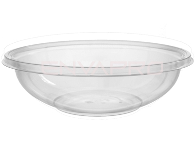 BOWL ENSALADERA PET TRANSPARENTE 25oz 750ml