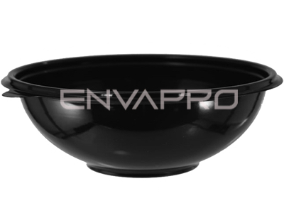 BOWL ENSALADERA PET NEGRO 25oz 750ml